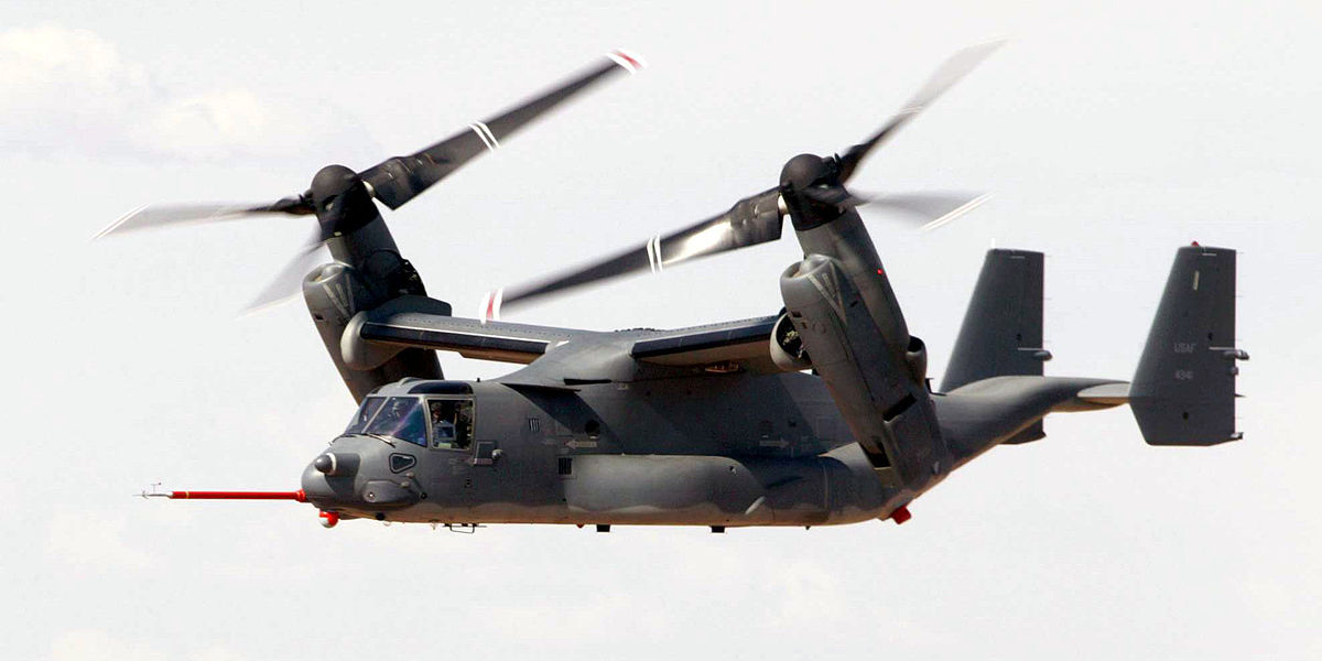 Accidents and incidents involving the V-22 Osprey - Wikipedia