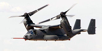 Powered lift - Bell Boeing V-22 Osprey