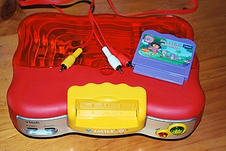 Sixth generation of video game consoles - Image: V Smile Top