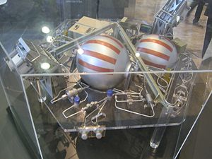 VENµS - Venus propulsion plate showing both chemical and electrical propulsion and the IHET thruster, model shown at the 66th IAC in Jerusalem