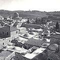 VIEW OF BUILDINGS IN THE OLD CITY OF JERUSALEM, WITH OMAR MOSQUE ON TEMPLE MOUNT IN THE BACKGROUND. מראה כללי של מבנים בעיר העתיקה בירושלים וברקע מסגדD728-061.jpg