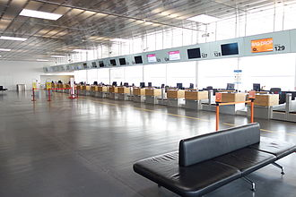 Vienna International Airport - Interior of Terminal 1A
