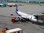 VQ-BHN (aircraft) at Sheremetyevo International Airport pic1.JPG