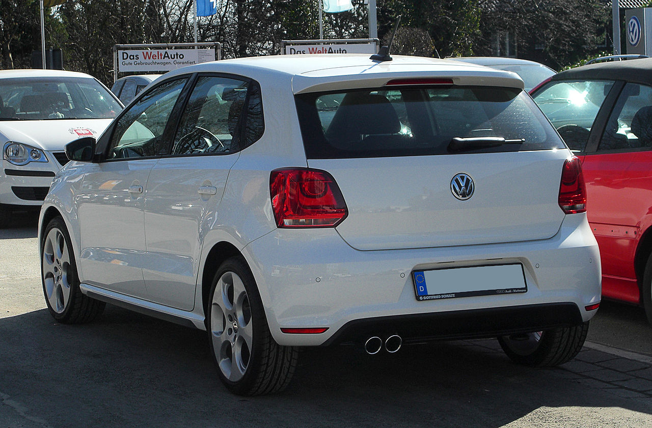 plik vw polo gti v heckansicht 7 m rz 2011 wikipedia wolna encyklopedia. Black Bedroom Furniture Sets. Home Design Ideas