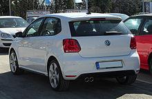 VW Polo GTI (V) – Heckansicht, 7. März 2011, Mettmann.jpg
