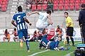 Valais Cup 2013 - OM-FC Porto 13-07-2013 - Alex Sandro, Morgan Amalfitano et Josué.jpg