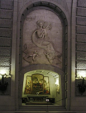 Valle de los Caídos - Virgen de Loreto