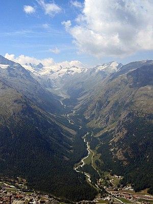 Pontresina - Pontresina valley