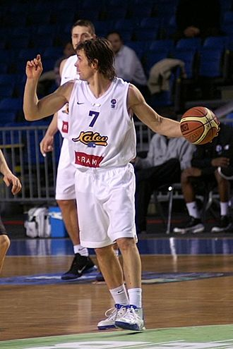 Estonian Basketball Player of the Year - Valmo Kriisa won the award in 2007.