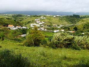 Vila do Porto (parish) - The secluded village of Valverde, literally green-valley, near the eastern border of the parish of Vila do Porto