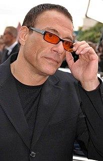 Jean-Claude Van Damme Belgian actor, martial artist, director