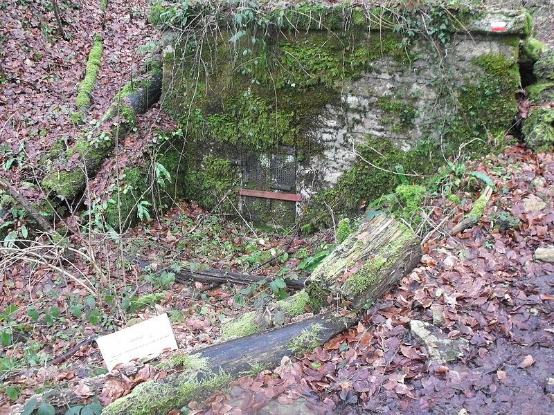 Ancienne station de captage près du Pont Sarrazin, Vandoncourt, Doubs, France