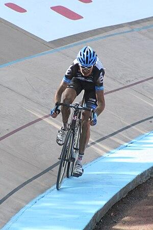 2011 Paris–Roubaix - Johan Vansummeren en route to victory in Roubaix