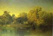 Vasilyev pond sunset.JPG