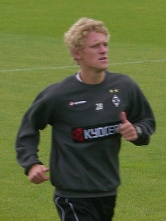 Johannes van den Bergh - Van den Bergh training with Borussia Mönchengladbach in 2007