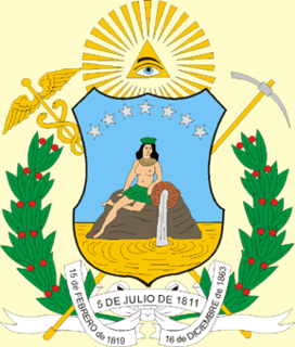 Coat of arms of Bolívar State