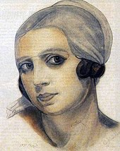 Stravinsky's second wife, Vera de Bosset (Source: Wikimedia)