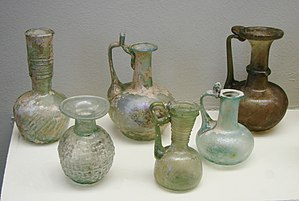 Roman glass - Roman glass from the 2nd century