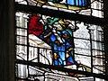 """Verrière des """"3 Marie"""" - roi Charles VII sous Marie Cléophas Notre-Dame, Évreux.JPG"""