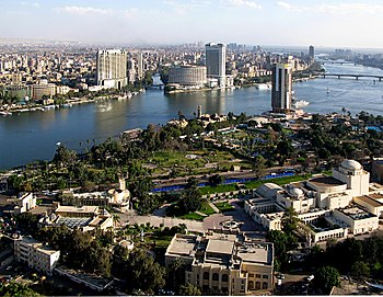 English: View from Cairo Tower