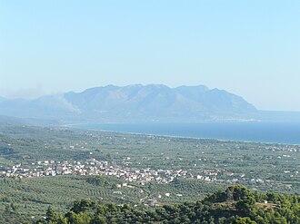 Zacharo - Image: View lapithas