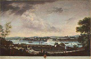 View of the Town and Port of Bayonne (La villa y puerto de Bayona)