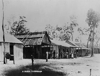 Biboohra, Queensland - Biboohra, circa 1893