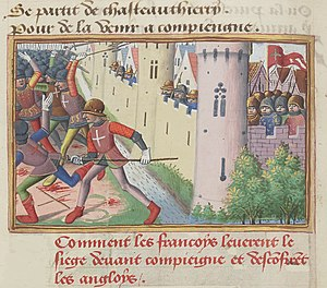 Siege of Compiègne - Image: Vigiles du roi Charles VII 45