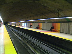 Villa-Maria station - Image: Villa Maria metro