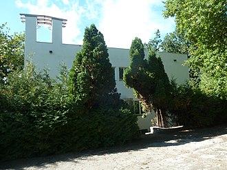 Allmendingen bei Bern - Image: Villa Allmendingen BE Bergliweg 11 Eingangsfront im Osten