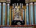 Vilnius Choraline Sinagoga Innen Thoraschrein 8.jpg