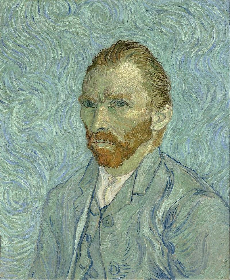 Self-Portrait, September 1889. Musée d'Orsay, Paris Google Cultural Institute