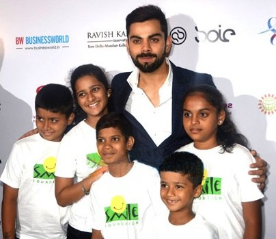 Virat Kohli charity (cropped)