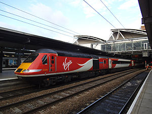 Virgin Trains East Coast - Virgin Trains East Coast HST at Leeds