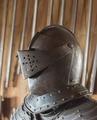 Visirhjälm med kam, 1600-talet - Skoklosters slott - 108867.tif