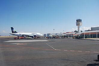 Volaris - A Volaris A319 at Morelia International Airport.