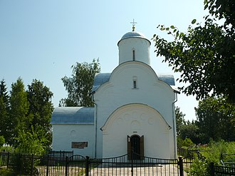 Novgorodsky District - The Assumption Church in Volotovo