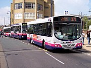 First buses in Huddersfield
