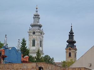 Vrbas, Serbia - Churches in Vrbas.
