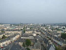 A view of Saint-Lô from the Notre-Dame church (fr)