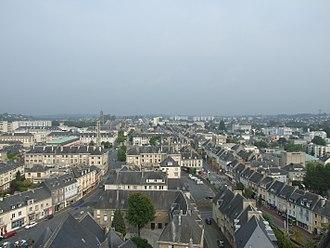 Saint-Lô - Image: Vue Est depuis Notre Dame Saint Lo
