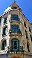 Vue contreplongée angle façade immeuble michoudet saint etienne.jpg