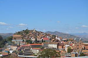 Fianarantsoa - Upper town Fianarantsoa