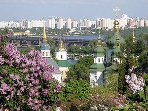 Vydubychi - Image: Vydubychi Monastery 2008(Kiev)
