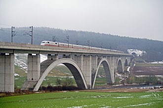 Hanover–Würzburg high-speed railway - Wälsebach Valley Bridge