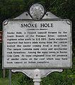 WV historical marker - Smoke Hole.jpg