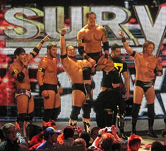 Wade Barrett - Barrett leading The Nexus in November 2010