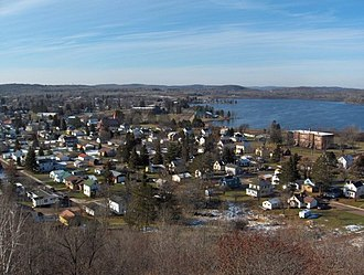 "Wakefield, Michigan - View from ""Tank Hill"""