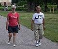 Walking in the court yard (9450063763).jpg