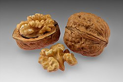 Walnuts - whole and open with halved kernel.jpg